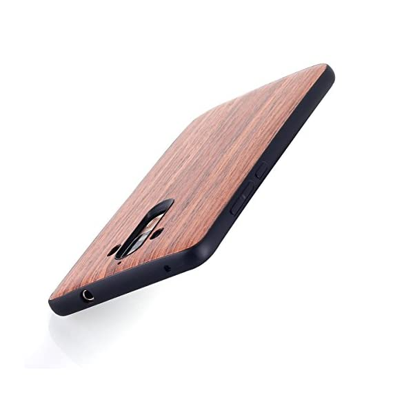 Huawei Mate 9 Case, AICase [Slim Fit] [Non Slip] PC Hybrid [Natural Wood] Protective Wooden Case for Huawei Mate 9 (Rose… 7 Design specifically for Huawei Mate 9 - 5.9 inch- 5.5 inch ( Not fit for Huawei Mate 9 Pro ) Unique & Attractive. AICase phone case is unique based on real wood skin layer, looks better on hand than picture, make your phone more attractive Practical Protector. The case can protect the screen, lens, and bumper edges very well. But we highly Recommend to match this case with a Screen Protector to avoid screen shattered once dropped on uneven floors.