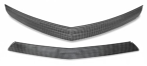 Fits 2010-2013 Chevy Camaro LT/LS V6 Phantom Style Billet Grille Grill Insert Combo # C61027A