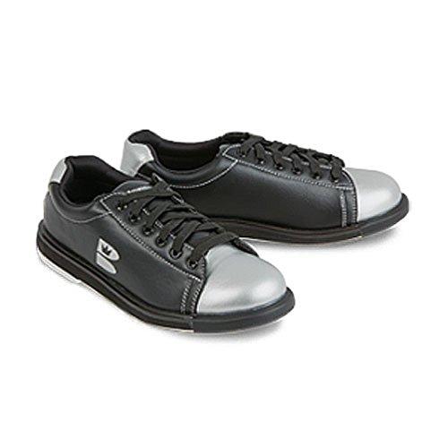 Brunswick Silver Black Bowling TZone Shoes wqxCwRHFv