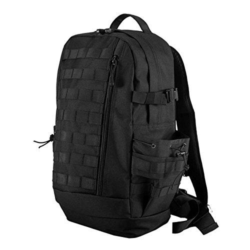 Mochila 600D impermeable Mochila Oxford para llevar al aire libre , black Black