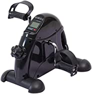 Pedal Exerciser Desk Exercise Bike for Leg and Arm Exercise