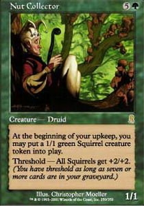 Magic: the Gathering - Nut Collector - Odyssey