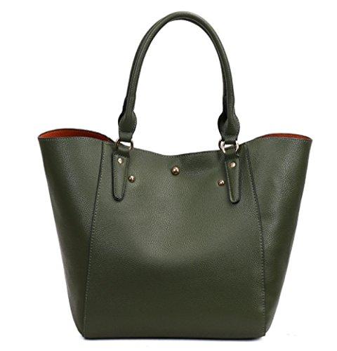 Bulk Ladies Crossbody Bag Retro Casual Shoulder Bag Waterproof Travel Bag Armygreen