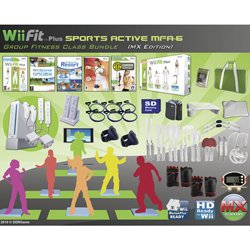 Wii Fit Plus Sport/Fitness Pack for 6 (PAC)