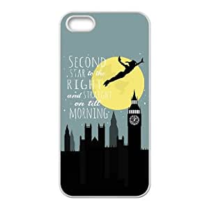 iPhone 5 5s Cell Phone Case White Peter Pan HTR Generic Clear Phone Cases