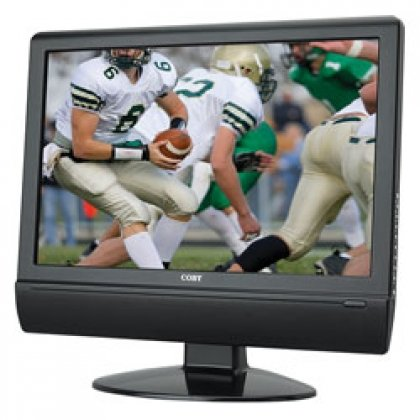 Coby TFTV1904 19-Inch Widescreen 720p LCD HDTV/Monitor, B...