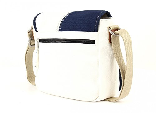 Camp David Deep River bolso bandolera 26.5 cm White (Blanco)