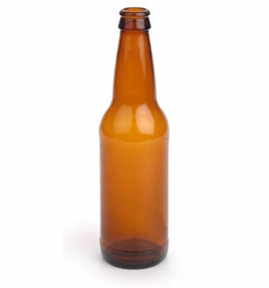 E.C Kraus Beer Bottles 12 oz. Amber