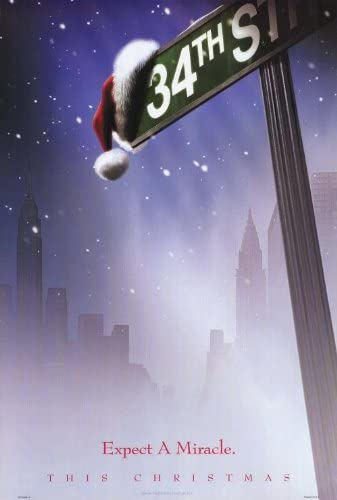 Miracle On 34th Street Movie Poster Glossy Finish Posters USA FIL719
