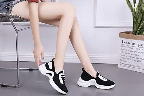 Athletic Walking Running Shoes Sneakers Women's Breathable Mesh Casual Black Lightweight DRENECO XqP5w7T8W