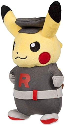 Pokemon POKÉ Plush Standard Costume Pikachu/Team Rocket -