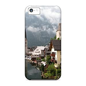 LJF phone case Hot New Hallstatt Austria Case Cover For iphone 6 4.7 inch With Perfect Design
