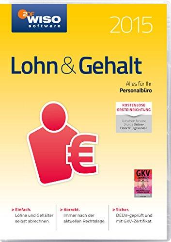WISO Lohn & Gehalt 2015 (Frustfreie Verpackung)