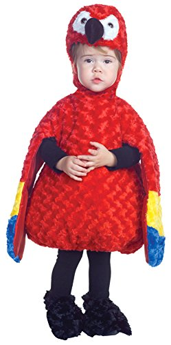 Unisex-Baby - Parrot Toddler Costume 2T-4T Halloween (Pirate Parrot Toddler Costumes)