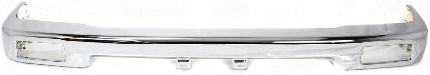 Front Bumper Compatible with Toyota Pickup 1989-1995 Chrome 2WD