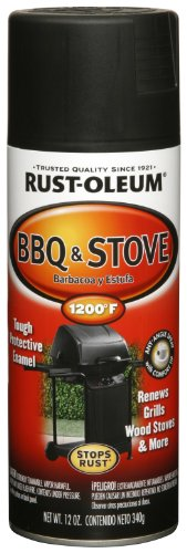 Rust-Oleum Automotive 249310 12-Ounce BBQ Black Spray, Black