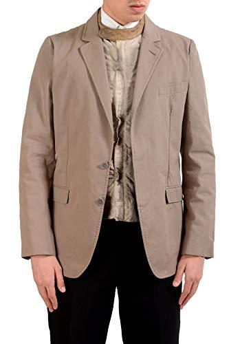 Dolce & Gabbana Men's Vintage Built-in Jacket Blazer Sport Coat US 38 IT 48 Gray Dolce & Gabbana Cotton Coat