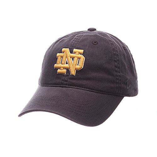 Elite Fan Shop Notre Dame Fighting Irish Hat Icon Navy - Blue