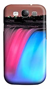 3D PC Case Cover for Samsung Galaxy S3 I9300 Custom Hard Shell Skin for Samsung Galaxy S3 I9300 With Nature Image- colorful Scenery