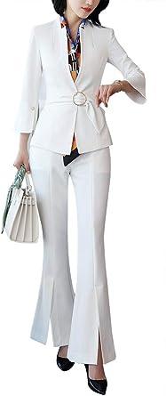 LISUEYNE Completo da Donna Formale 2 Pezzi Blazer Slim