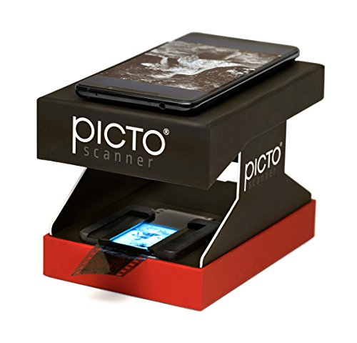 PictoScanner Film and Slide Scanner – Use Your High-Resolution Smartphone to Scan 35mm Slides and Film Negatives. Easily Scan, Edit, and Share with this No-Nonsense Solution by PictoScanner