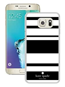 Genuine Kate S6 Edge Plus Case,Kate Spade 3 White Samsung Galaxy S6 Edge Plus Screen Phone Case Grace and Sweet Design