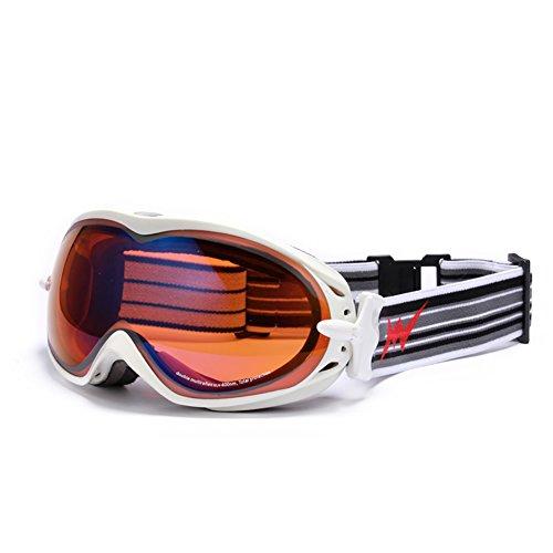 ... SE7VEN Lunettes De Ski Extérieur,Coupe-vent Des Lunettes De Protection  Bicyclette Motoneige Adulte 58848111ca77