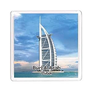 Ajooba Dubai Souvenir Magnet Burj Al Arab 0075