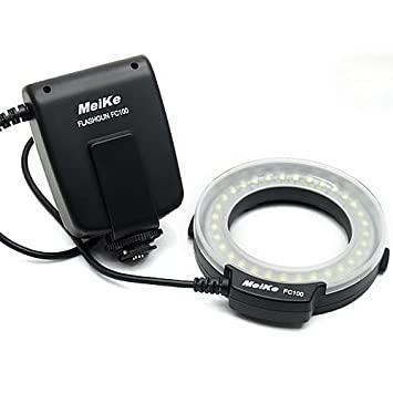 Buy Meike FC 100 Macro Ring Flash Light for Canon line at Low