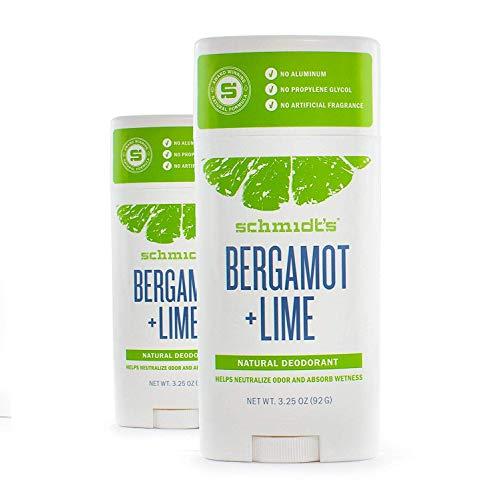 Schmidtsde Deodorant Lime Bergamot 2.65 Oz