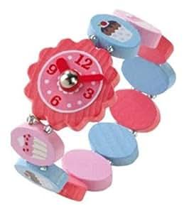 Haba 6382 Kati - Reloj de pulsera infantil, diseño de magdalenas