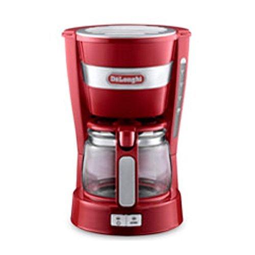 DeLonghi drip coffee maker ICM14011J (Red) by DeLonghi