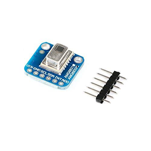 AMG8833 8x8 Capteur de Temp/érature Imageur Thermique IR de Poche 7m//23ft Distance de D/étection La Plus Eloign/ée USB 5V Imageur Thermique Infrarouge