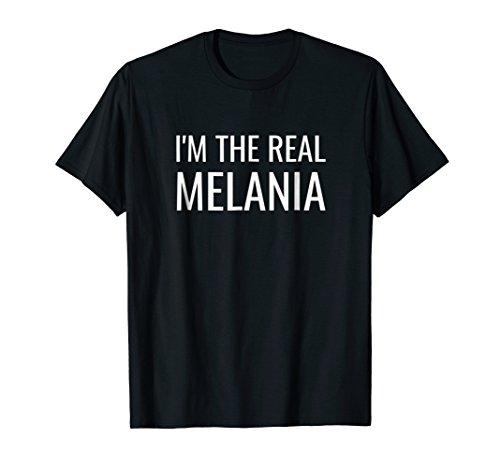 I'm the Real Melania Shirt - Fake Melania Free Melania Trump