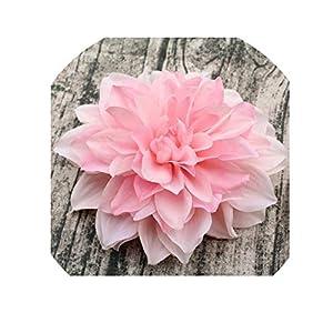 15CM Big Artificial Silk corsagedress Dahlia Chrysanthemum Flowers Handmade DIY Home Decor,2 28
