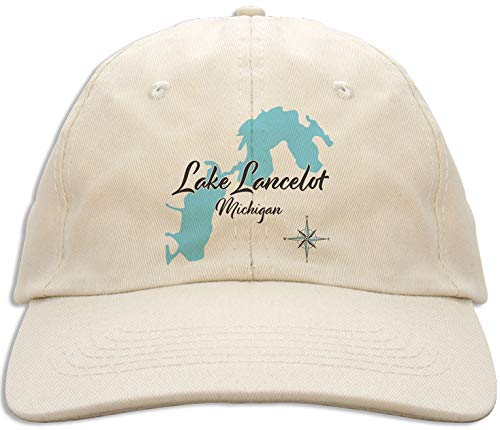 Whitmore in WASHTENAW/LIVINGS,MI (643 LS) - Baseball Cap - Nautical chart and topographic depth map.
