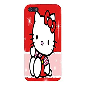 Hello Kitty Red Pink Cute Cat Kitten Cover Case iPhone 6