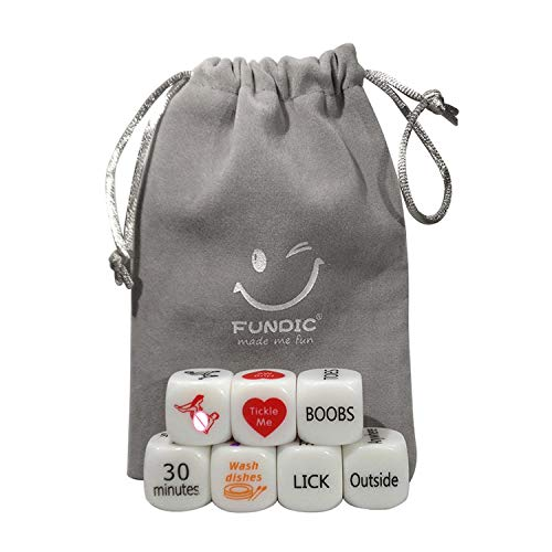 Dice Set Toys for Couples Game for Lovers