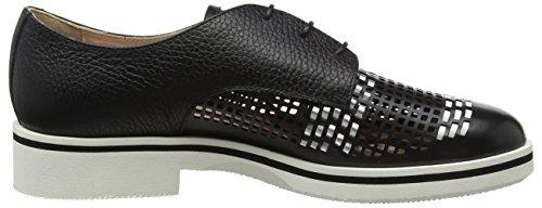 Shoe Cordones Ne Mujer Oxford Zapatos Multicolor nero bi Pollini 00a para de W Bt ag 5Ia0qZ