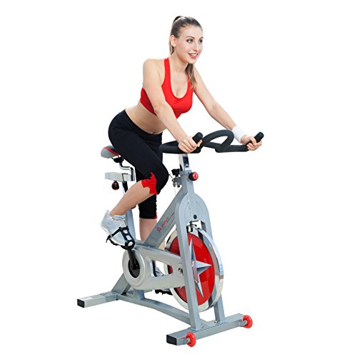 Pro Indoor Cycling Bike by Sunny Health & Fitness - - Exercise Sunny Wheel