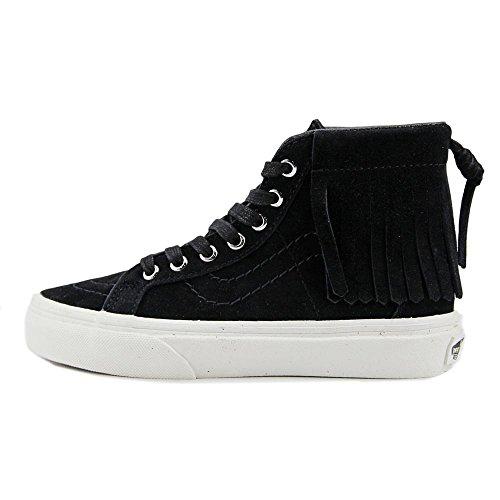 Vans Sk8 Hi Suede Bl High Moc Top De Black Blanc Unisex U5rnqU