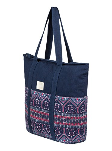 Roxy Womens Folk Singer - Beach Tote Bag - Women - One Size - Multicolor China Blue New Maiden Swim One Size by Roxy (Image #1)