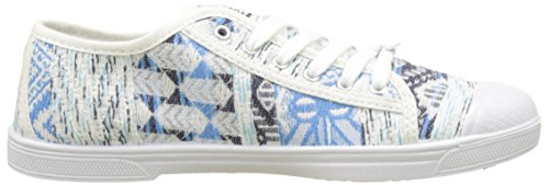 Le Temps des CerisesBasic 02 - botas de caño bajo Mujer Bleu (Ceramic Blue)