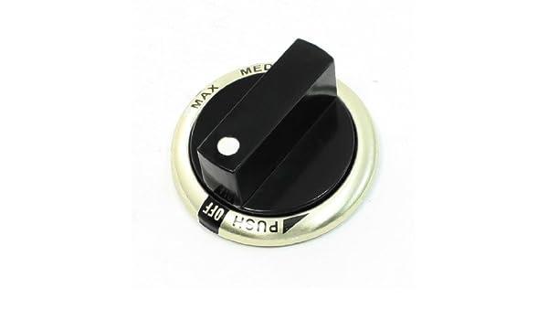 Amazon.com: eDealMax Tapa de plástico Medio Montura Para Cocina de Gas Perilla Rango DE 25 mm de diámetro: Home & Kitchen