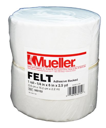 Mueller Orthopedic Felt - Adhesive backed - 1/4