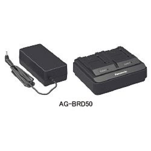 Panasonic AG-BRD50P Dual Battery Charger by PANASONIC SOLUTIONS COMPANY