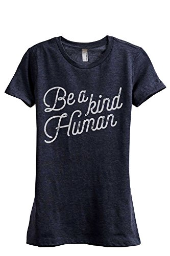 Be A Kind Human Women's Fashion Relaxed T-Shirt Tee