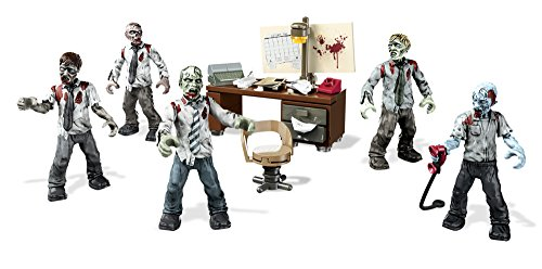 Zombies Office Mob is an odd toy for kids