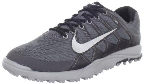 Nike Golf Men's Nike Air Range WP II Wide-M, Dark Grey/Midnight Fog/Black/Metallic Silver 10.5 W US ()