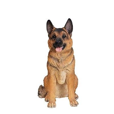 Hi-Line Gift Ltd Sitting Dog - German Shepherd - Large: Home & Kitchen
